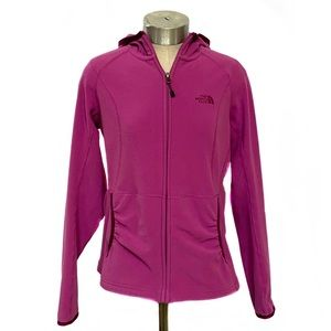 THE NORTH FACE Masonic Magenta Hooded Zip Up M